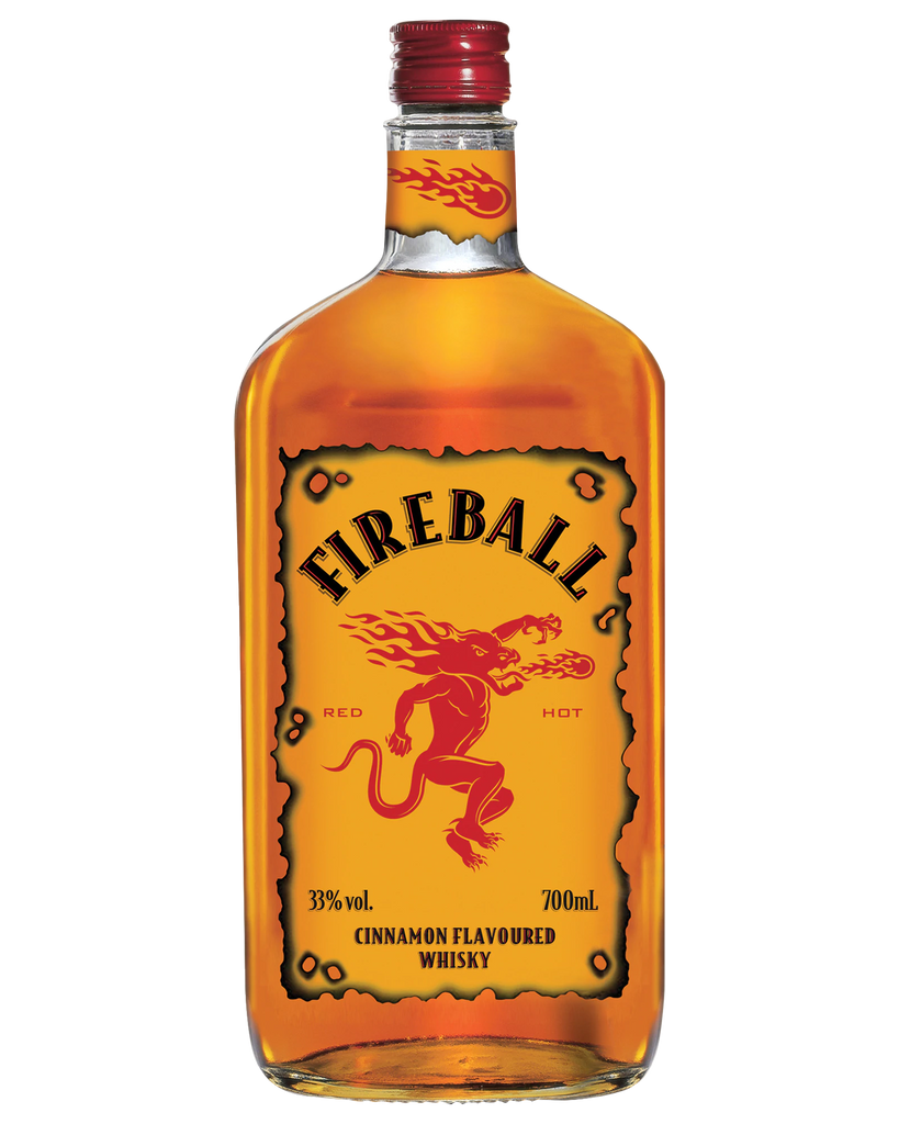 Fireball Cinnamon Whisky 700ml - Boozeit.com.au