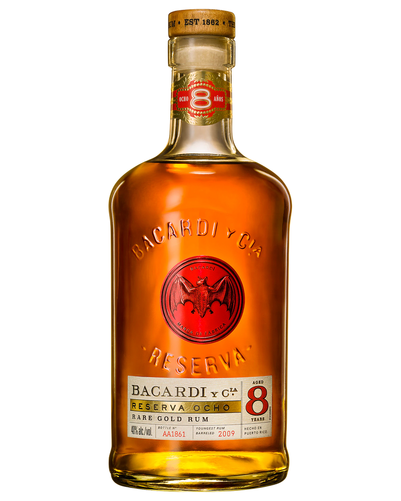 Bacardi Ocho 8 Year Old Rum 700ml