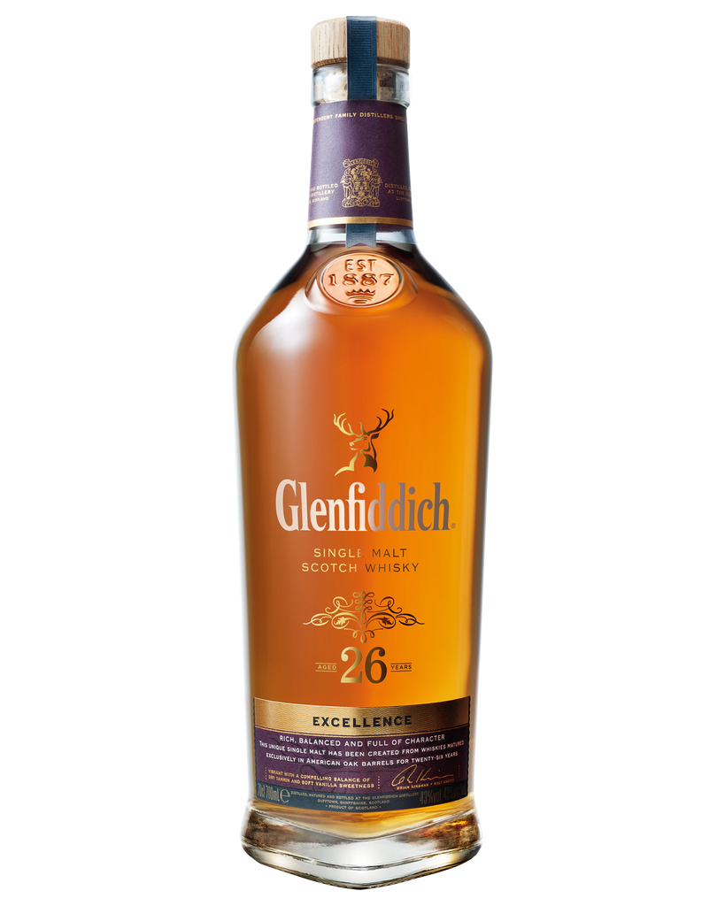 Glenfiddich 26 Year Old Single Malt Scotch Whisky 700ml