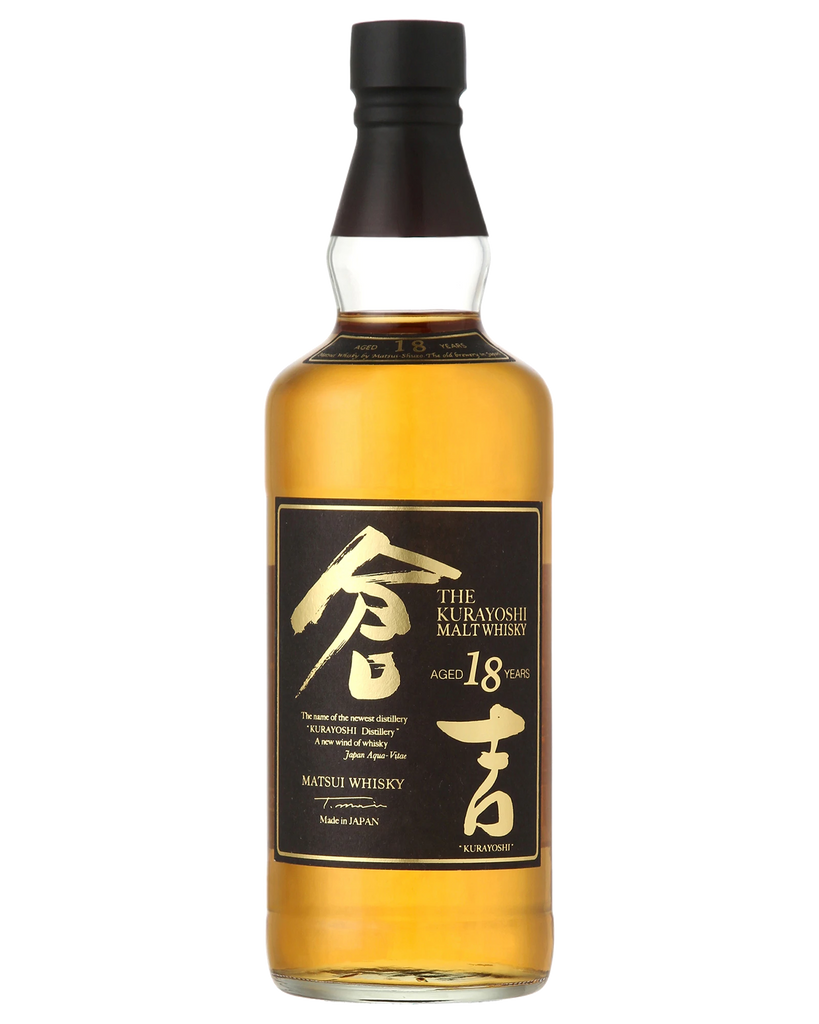 The Kurayoshi Pure Malt 18 Year Old Single Malt Whisky 700ml