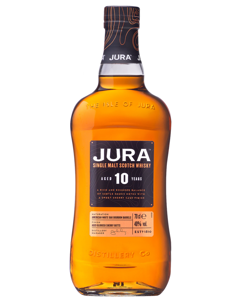Jura 10 Year Old Whisky 700ml - Boozeit.com.au