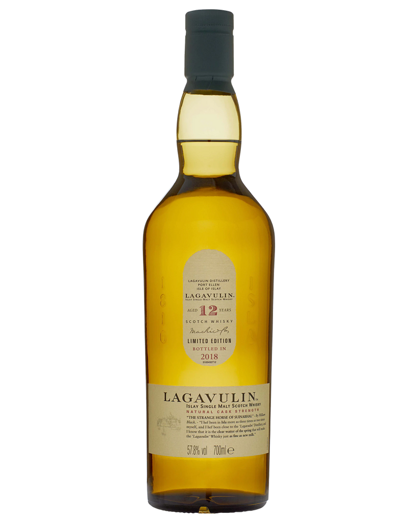 Lagavulin 12 Year Old Single Malt Scotch Whisky 2018 Release 700ml