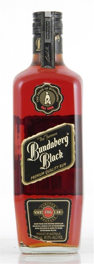 Bundaberg Black 1986 Vat 14 Rum 1125ml