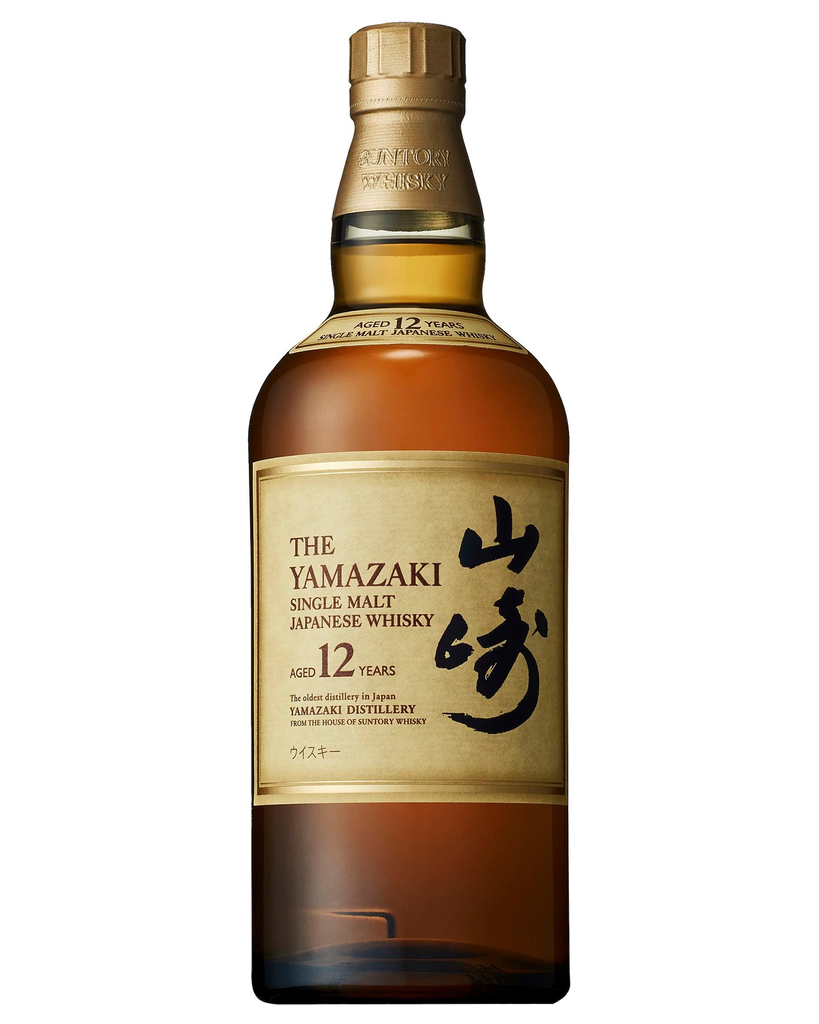 Yamazaki 12 Year Old Single Malt Japanese Whisky 700ml