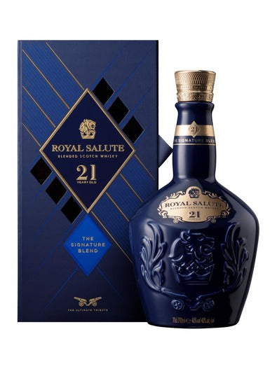 Royal Salute 21 Year Old Blended Scotch Whisky 700ml - Boozeit.com.au