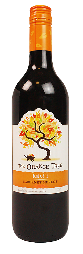 The Orange Tree Cabernet Merlot - Boozeit.com.au