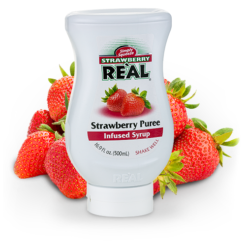 Strawberry Real 500ml