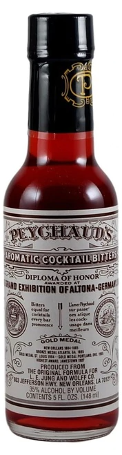 Peychaud's Aromatic Bitters 148ml