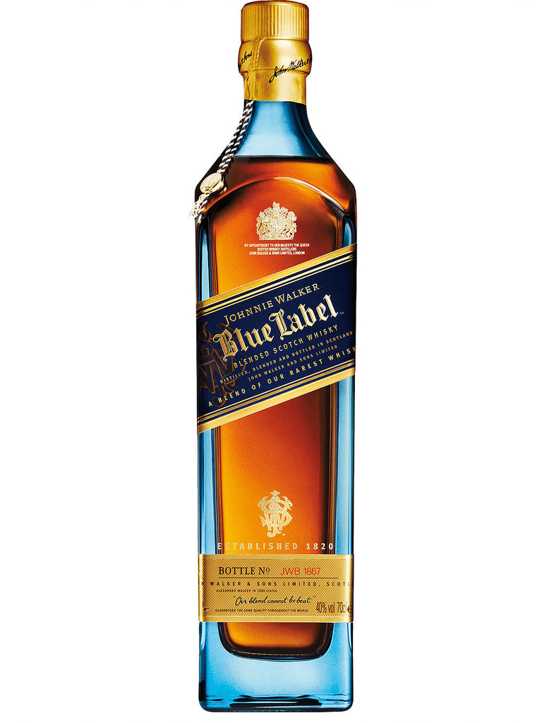 Johnnie Walker Blue Label Blended Scotch Whisky 750ml - Boozeit.com.au