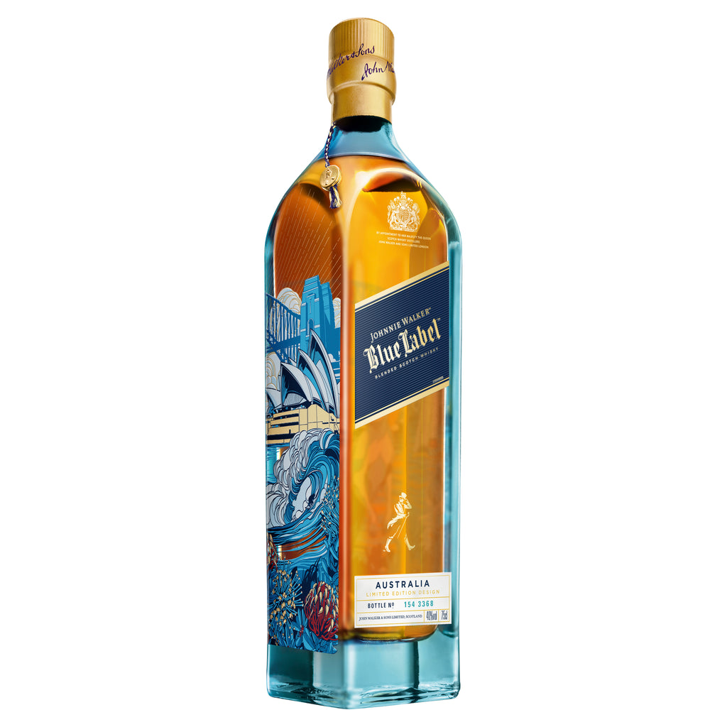 Johnnie Walker Blue Australia Design Blended Scotch Whisky 750ml