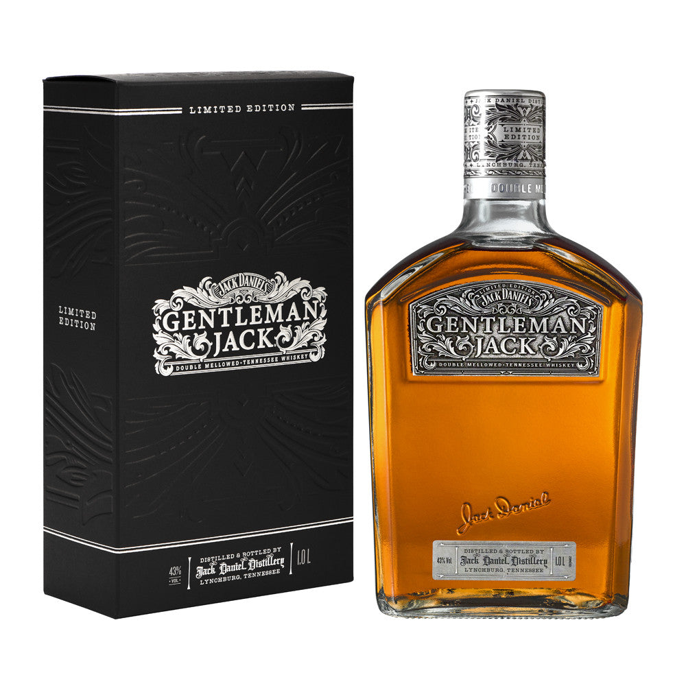Gentleman Jack Time Piece Limited Edition Rare Tennessee Whiskey 1L