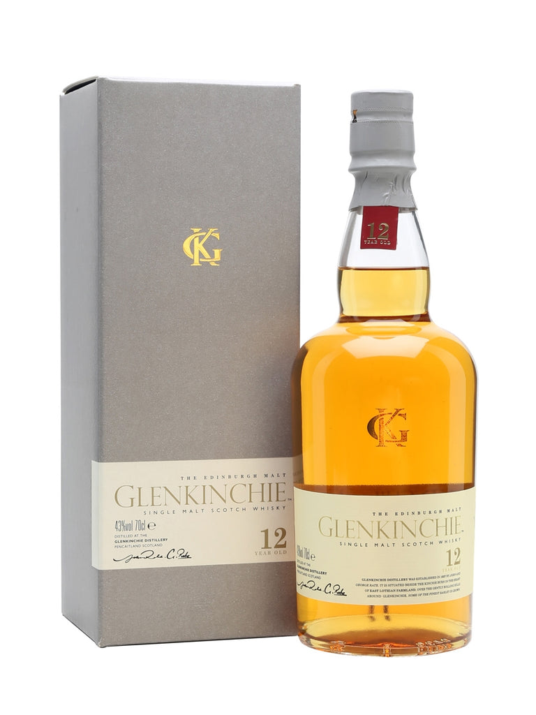 Glenkinchie 12 Year Old Single Malt Scotch Whisky 700ml