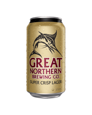 Great Northern Super Crisp Cans 375ml