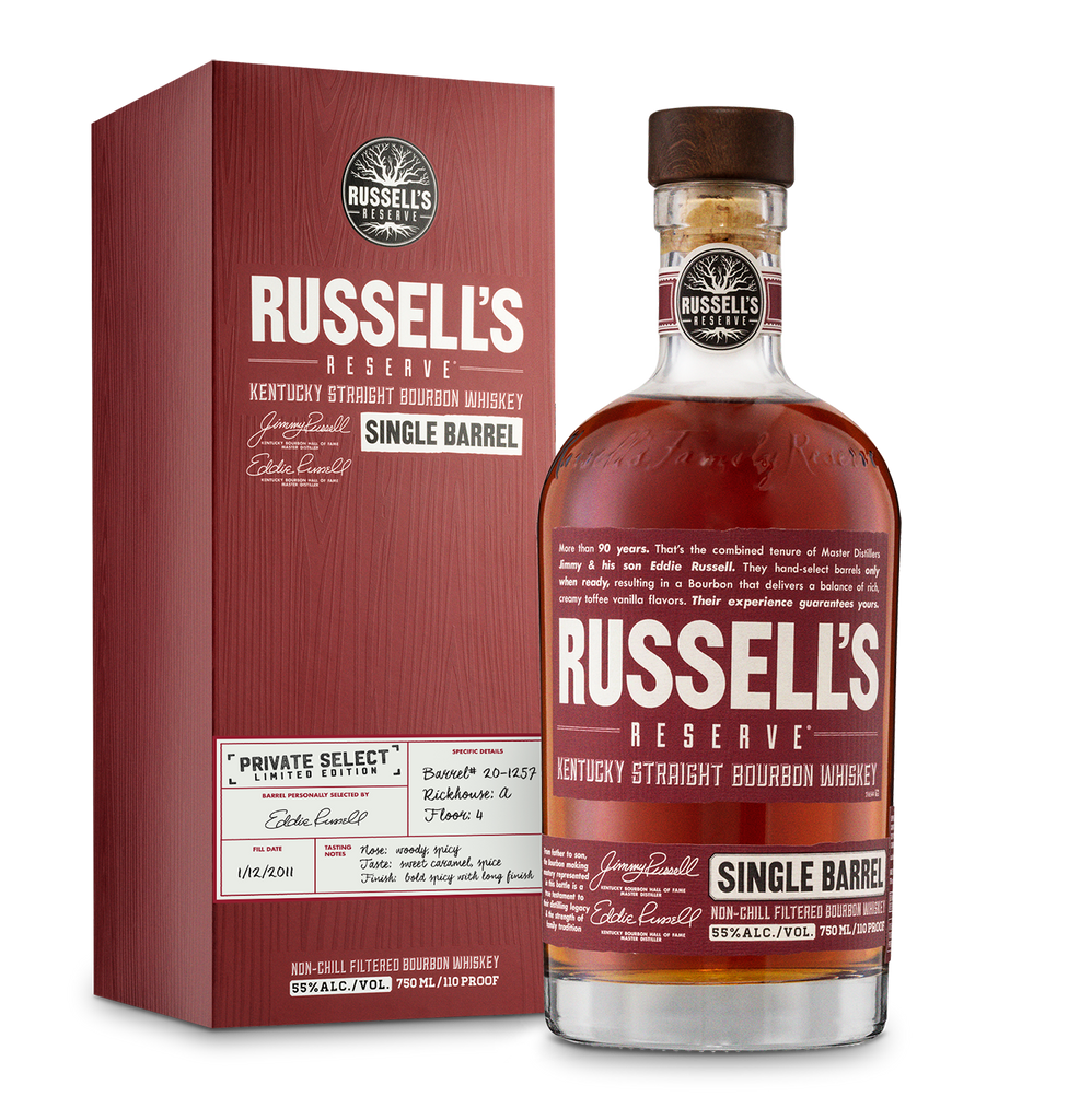 Russell's Reserve Private Select Limited Edition Kentucky Straight Bourbon Whiskey 750ml