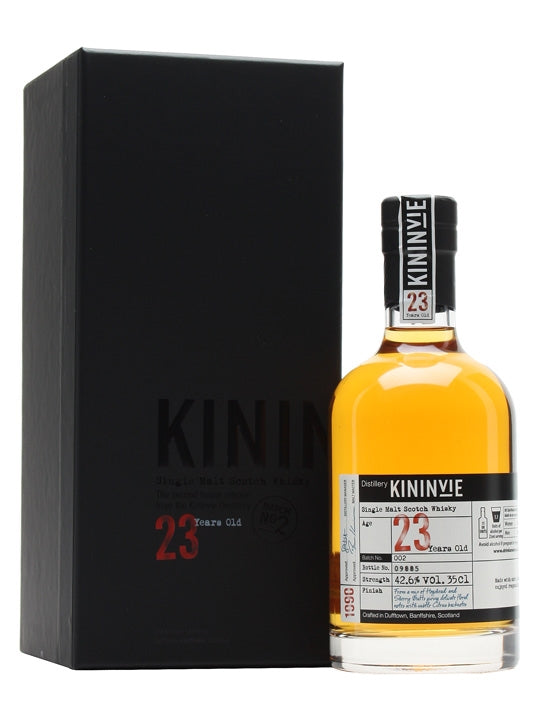 Kininvie 23 Year Old 2015 Single Malt Scotch Whisky 350ml