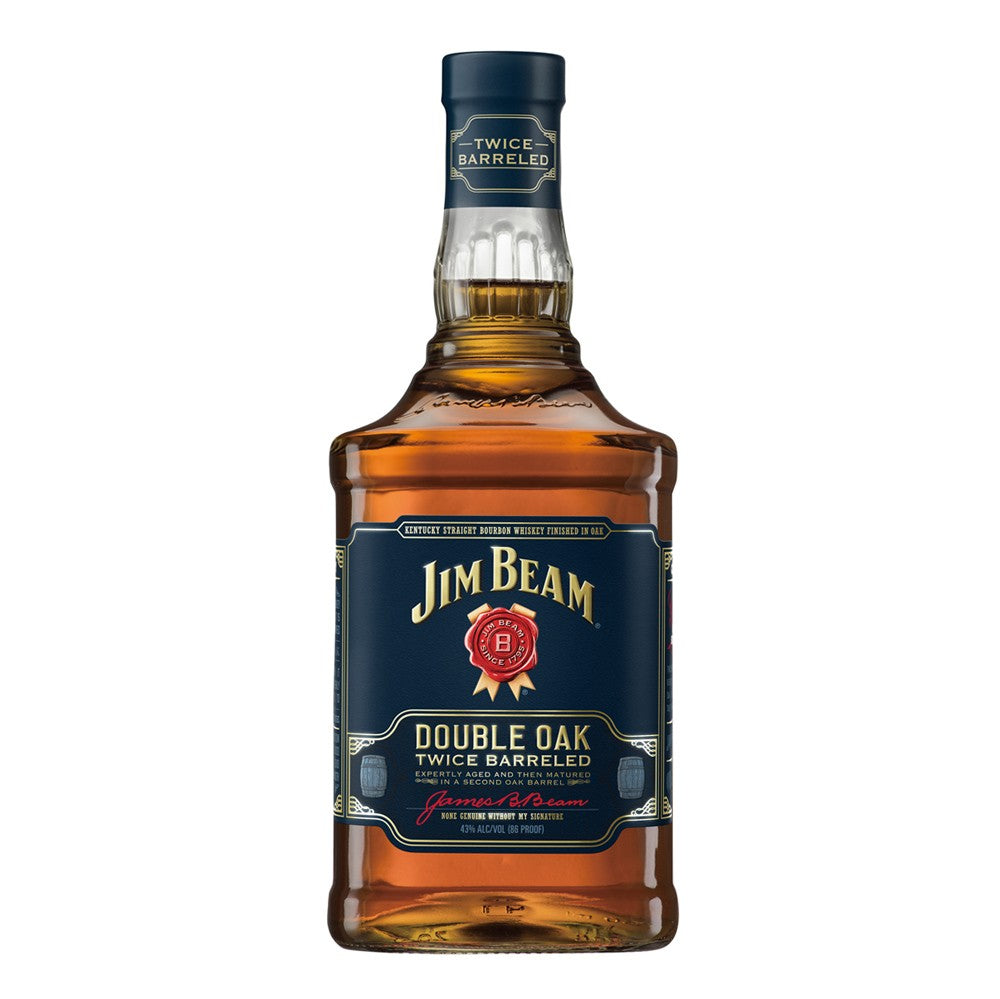 Jim Beam Double Oak Kentucky Straight Bourbon Whiskey 700ml