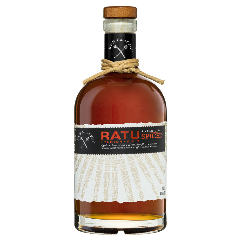 Ratu 5 Year Old Fijian Spiced Rum 700ml