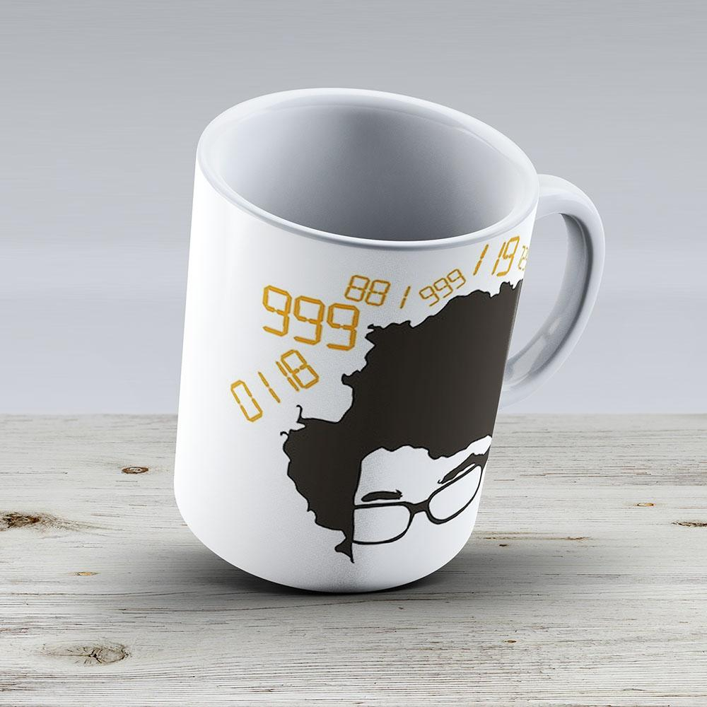 0118 999 881 999 119 7253 - Ceramic Coffee Mug - Gift Idea For Family And Friends