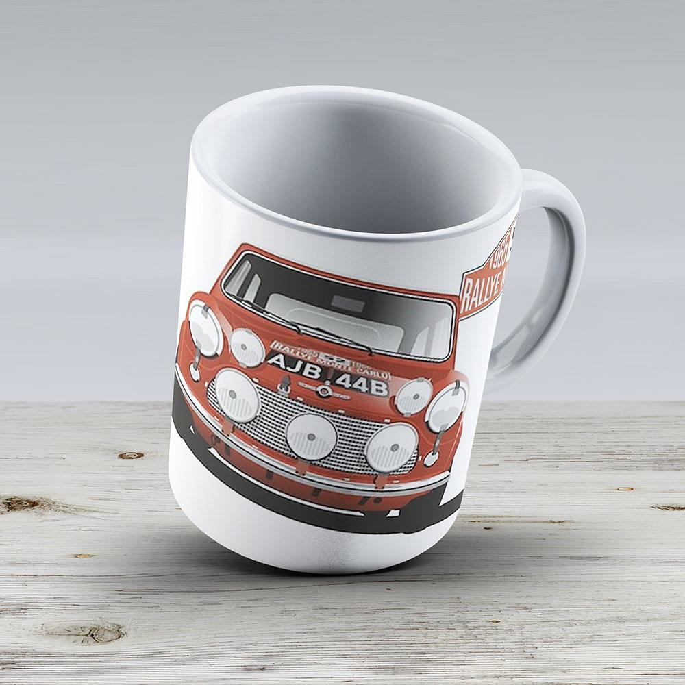1965 Rallye Monte Carlo Winner - Ceramic Coffee Mug - Gift Idea For Family And Friends