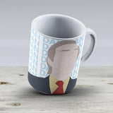 Alan Partridge Dan Dan Dan Daaaaan - Ceramic Coffee Mug - Gift Idea For Family And Friends