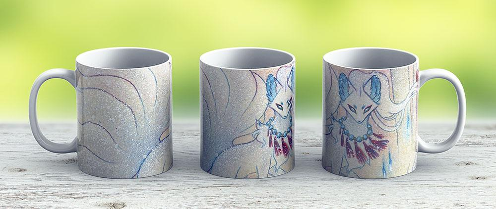 Alolan Ninetales - Ceramic Coffee Mug - Gift Idea For Family And Friends