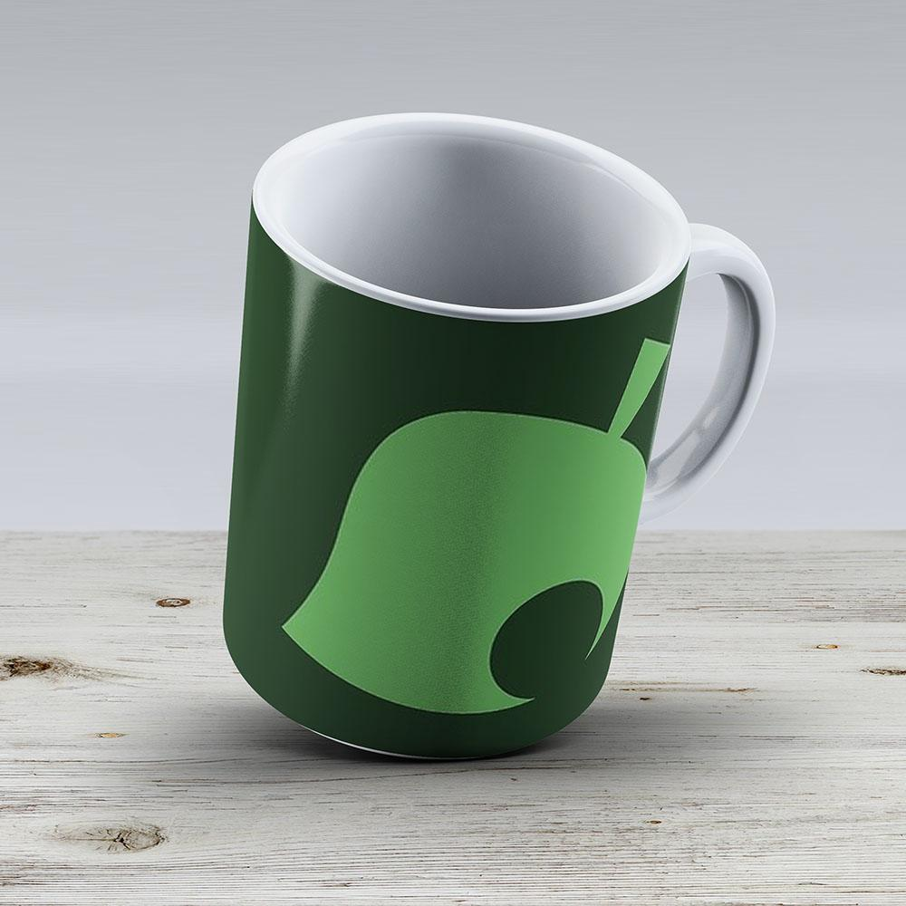Animal Crossing Leaf - Ceramic Coffee Mug - Gift Idea For Family And Friends