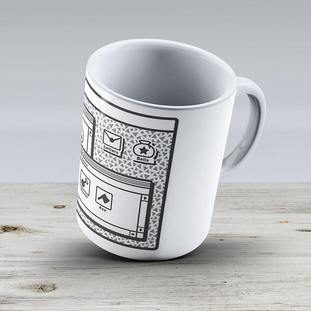 Animal Crossing Os - Ceramic Coffee Mug - Gift Idea For Family And Friends