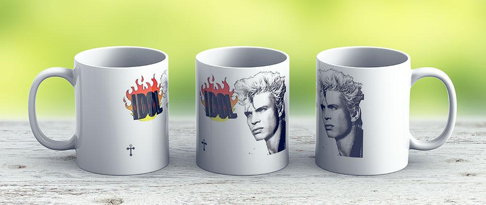 Billy Idol Neurotic Outsiders Chelsea - Ceramic Coffee Mug - Gift Idea For Family And Friends
