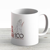 Bks Iyengar Official Centenary Year Logo - Charity Design - Ceramic Coffee Mug - Gift Idea For Family And Friends