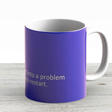 Blue Screen Of Death - Windows 810 Blue Screen Graphics - Ceramic Coffee Mug - Gift Idea For Family And Friends