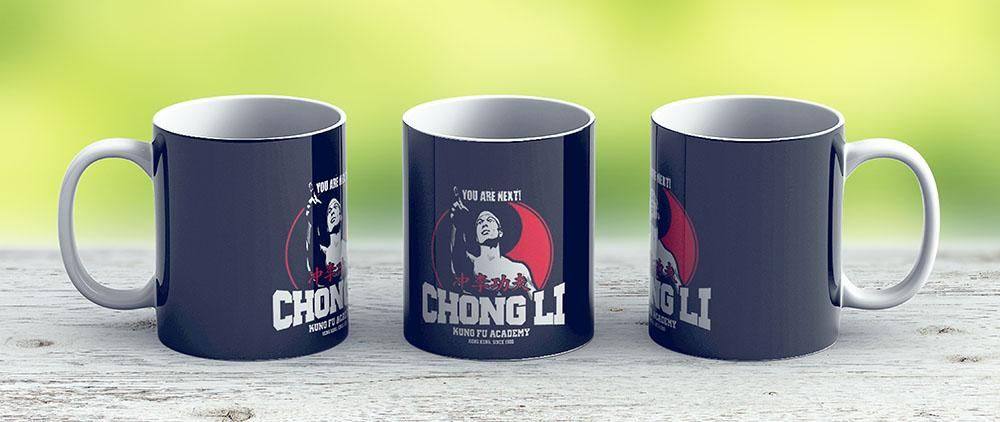 Bolo Yeung Bloodsport Chong Li Kung Fu Academy You Are Next - Ceramic Coffee Mug - Gift Idea For Family And Friends