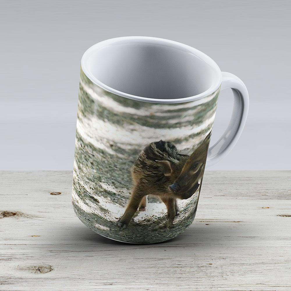 Baby Red River Hogs - Ceramic Coffee Mug - Gift Idea For Family And Friends