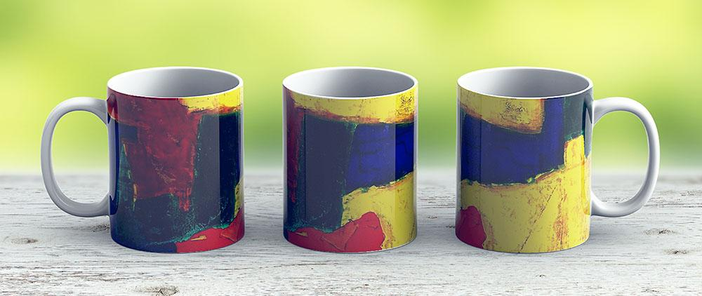 Balance - Equilibrium Oil Painting - Ceramic Coffee Mug - Gift Idea For Family And Friends
