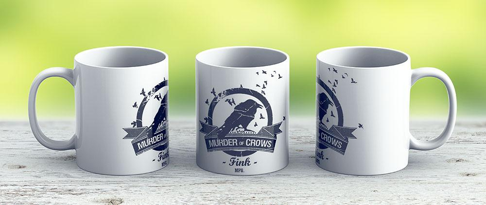 Bioshock Infinite - Murder Of Crows Vigor - Ceramic Coffee Mug - Gift Idea For Family And Friends