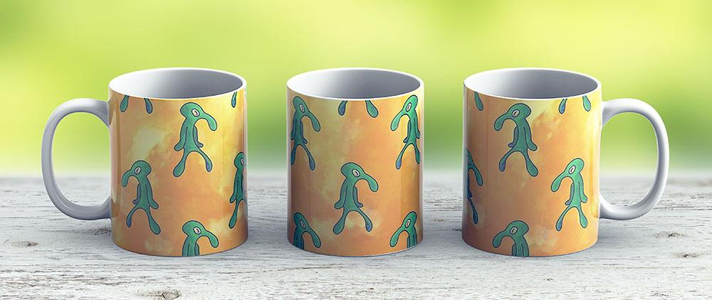 Bold And Brash Yellow - Ceramic Coffee Mug - Gift Idea For Family And Friends