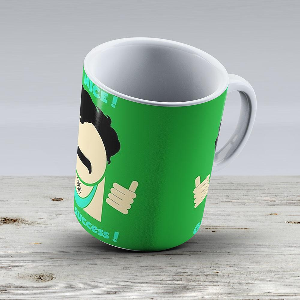 Borat Very Nice Great Success - Ceramic Coffee Mug - Gift Idea For Family And Friends