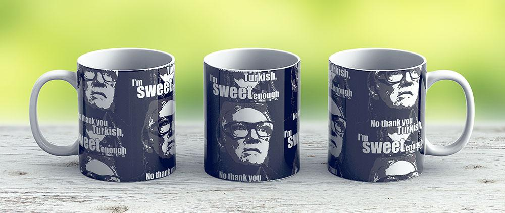 Brick Top - Snatch - Ceramic Coffee Mug - Gift Idea For Family And Friends