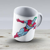 Captain Planet - Ceramic Coffee Mug - Gift Idea For Family And Friends