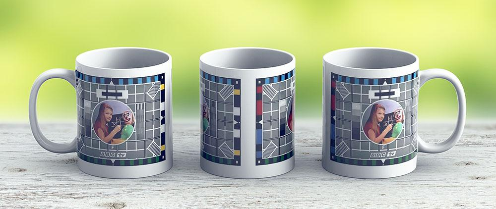 Classic Bbc Test Card - Ceramic Coffee Mug - Gift Idea For Family And Friends