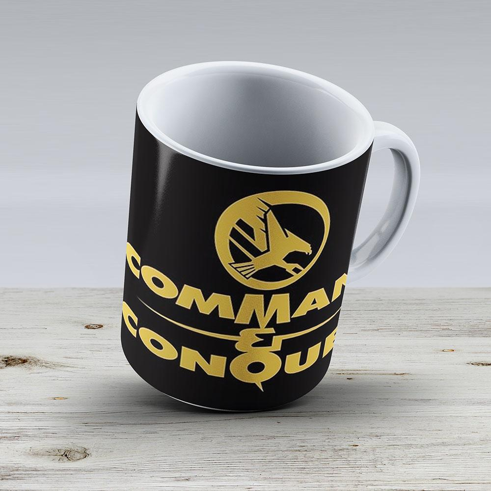 Command Conquer - Ceramic Coffee Mug - Gift Idea For Family And Friends