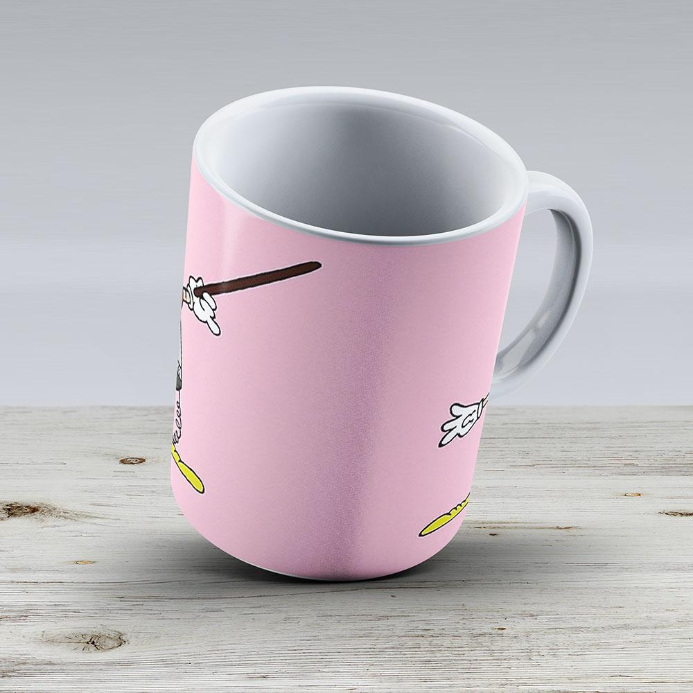 Dusty Bin - Ceramic Coffee Mug - Gift Idea For Family And Friends