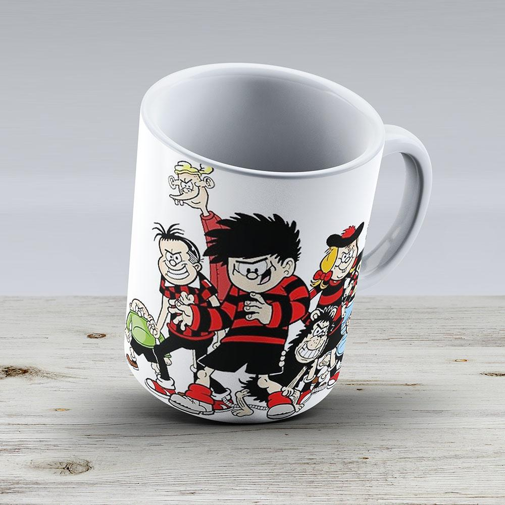 Dennis The Menace And Gang - Ceramic Coffee Mug - Gift Idea For Family And Friends