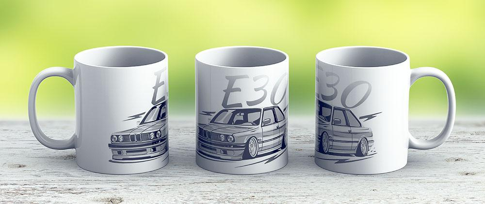 E30 Low Style - Ceramic Coffee Mug - Gift Idea For Family And Friends