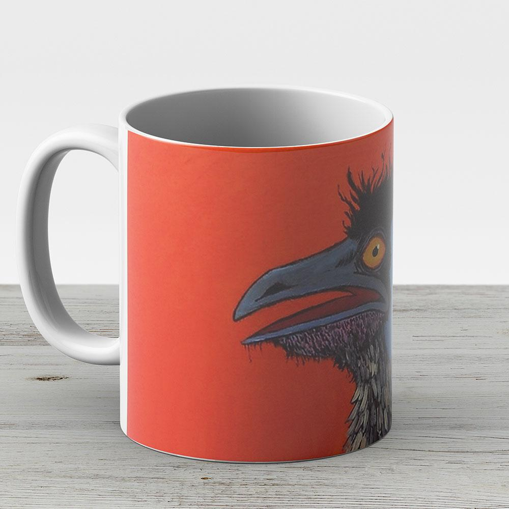 Emu - Ceramic Coffee Mug - Gift Idea For Family And Friends