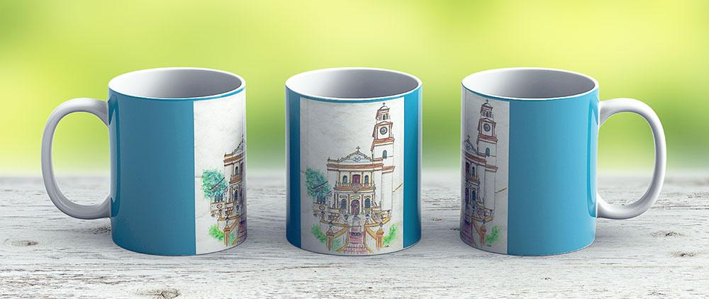 Eglise Brsilienne - Saint Laurent - Ceramic Coffee Mug - Gift Idea For Family And Friends
