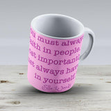Elle Woods Quote - Ceramic Coffee Mug - Gift Idea For Family And Friends