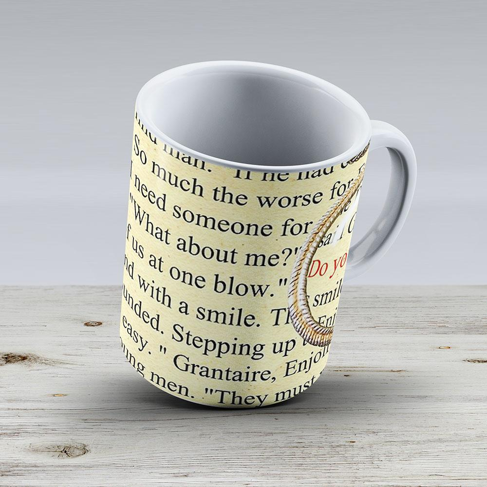 Enjolras Grantaire From The Brick - Ceramic Coffee Mug - Gift Idea For Family And Friends