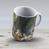 Francois Boucher - The Bird Catchers1748 - Ceramic Coffee Mug - Gift Idea For Family And Friends