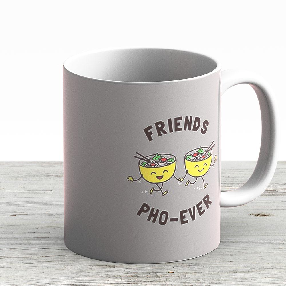 Friends Pho-Ever - Ceramic Coffee Mug - Gift Idea For Family And Friends