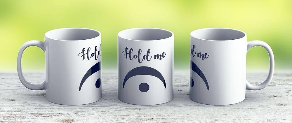 Funny Bandmusic Fermata Hold Me - Ceramic Coffee Mug - Gift Idea For Family And Friends